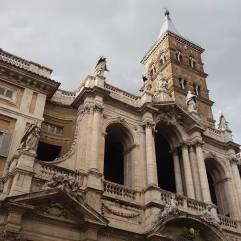 Front side of Basilica Santa Maria Maggiore