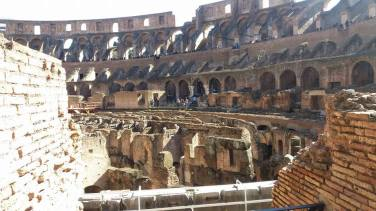 The Colosseum arena