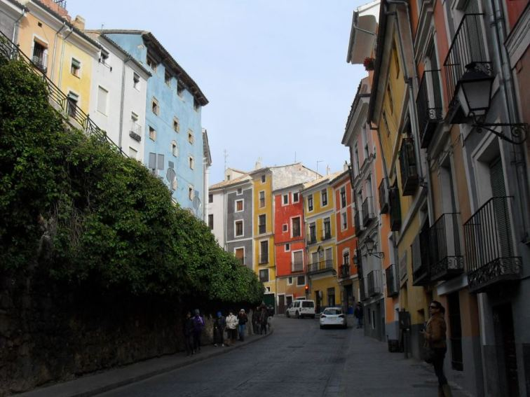 Colourful houses of Cuenca