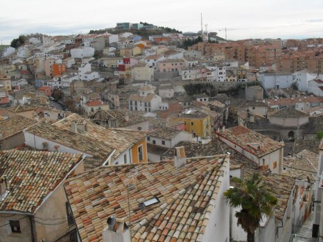 View on houses from the house of my friend in Cuenca