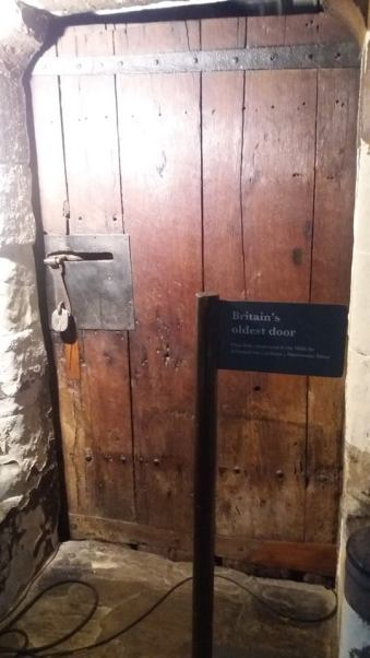 Britains oldest door