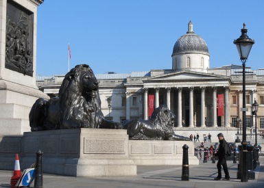 british-museum-and-lion-of-trafalgar