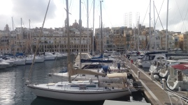 One of the harbors of Valletta