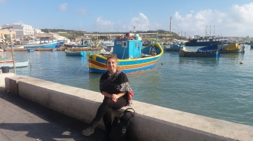 Colourful boats of Marsaxlokk