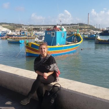 Colourful boats of Marsaxlokk