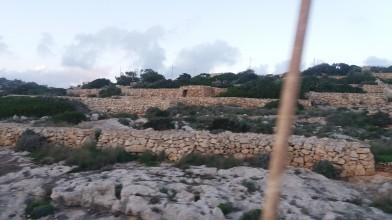 Stoned landscape of Malta.