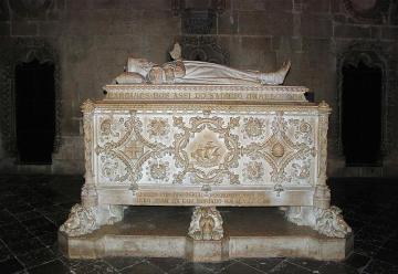 Neomanueline tomb of navigator Vasco da Gama