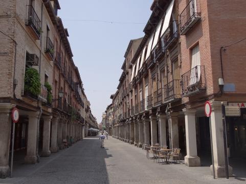 Calle Myor of Guadalajara