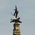 Almaty's Golden ManMonument