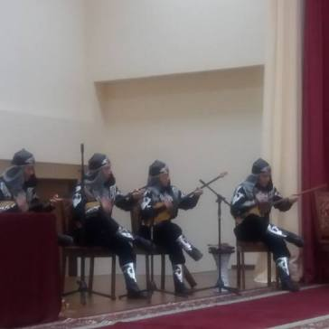 Dombra - traditional kazkhstani instrument