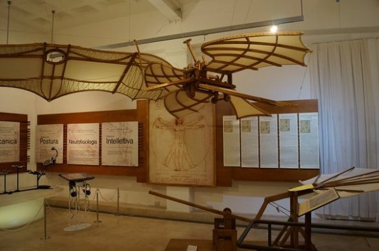 Inside the Museum of DaVinci