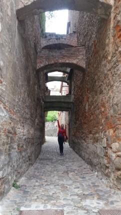 Secret passages below the castle of Ptuj