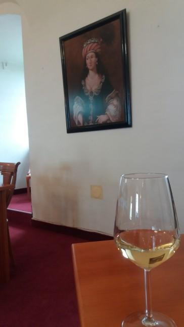 Traminac wine (croatian - slovenian sort)