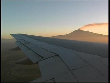 Etna from plane