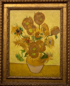 Sun flowers - the most famous painting of Van Gogh