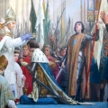 Coronation-of-Charles-VII-in-Reims-in-the-presence-of-Joan-of-Arc.-Painting-by-by-E.-Lenepveu