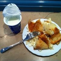 Burek with yoghurt