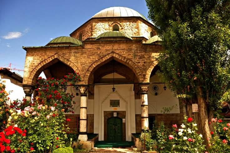 Bascarsija-Mosque-Sarajevo
