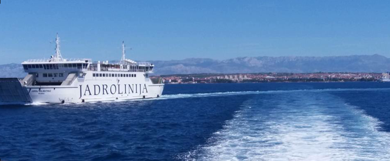 Ferry and the Zadar