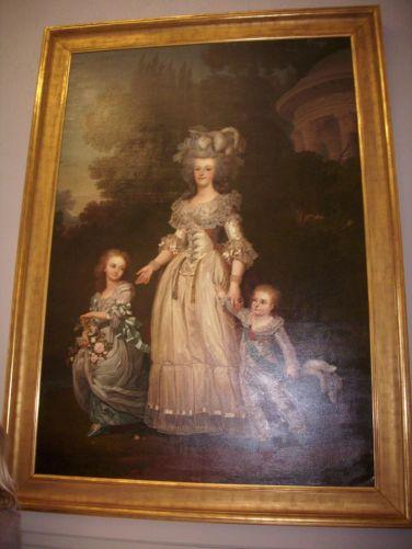 Queen Marie Antoanette, habsburg's Dauphin